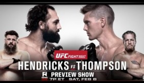 UFC Las Vegas: Hendricks vs. Thompson & Benavidez vs. Makovsky Preview on Fight News Now