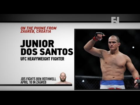 "UFC Zagreb: Junior Dos Santos on Ben Rothwell – ""It Will Be The Win I Need Right Now"""