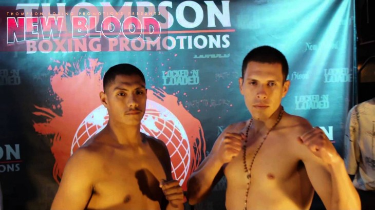 Video Highlights – Thompson Boxing: Roman vs. Robles Weigh-in