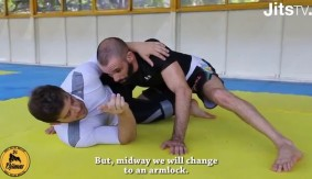 Video – JitsMag: Omoplata from Half Guard with Daniel Franja