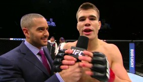 Video – UFC Fight Night Las Vegas: Mickey Gall Octagon Interview