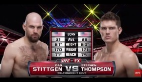 Video – UFC Fight Night Las Vegas Free Fight: Stephen Thompson vs. Dan Stittgen