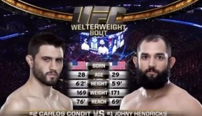 Video – UFC Fight Night Las Vegas Free Fight: Johny Hendricks vs. Carlos Condit