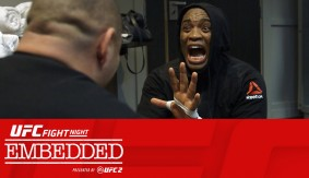 Video – UFC FIght Night London Embedded: Vlog Series Episode 3
