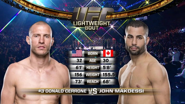 Video – UFC Fight Night Pittsburgh Free Fight: Donald Cerrone vs. John Makdessi