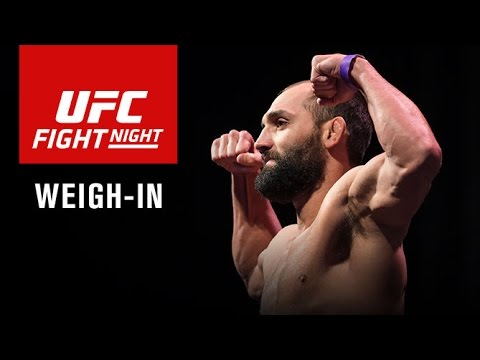 Watch LIVE Fri. at 7 p.m. ET – UFC Fight Night Las Vegas: Official Weigh-in