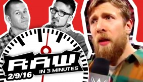 WWE RAW in 3MIN 2/9/16: Daniel Bryan Retires