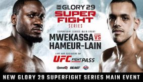 Mwekassa Meets Hameur-Lain in GLORY 29 Copenhagen SuperFight Series on April 16