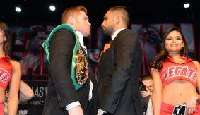 Boxing_PressTour_NewYork_GoldenBoy_HBOPPV_AmirKhan_CaneloAlvarez_2016_032416