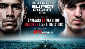 New Start Time for GLORY SuperFight Series on UFC Fight Pass