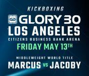 Simon Marcus vs. Dustin Jacoby Headlines GLORY 30 Los Angeles