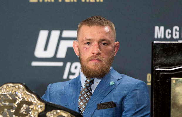 A Featherweight Title Defense Has Always Been Calling Conor McGregor
