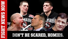 Nick Diaz vs. Bisping, Nate Diaz vs. Lawler, Silva vs. Mousasi & More on Fight News Now