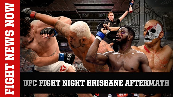 UFC Fight Night Brisbane Aftermath: Hunt Knocks Out Mir, Magny Stops Lombard on Fight News Now