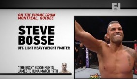 UFC Fight Night Brisbane: Steve Bosse on Hostile Territory, Previous Setbacks and More