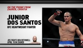 "UFC Fight Night Zagreb: Junior dos Santos – ""These Past 2 Years Have Been Hard"""