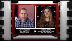 UFC Women's Bantamweight Champ Miesha Tate on Holm Win, Rousey and More