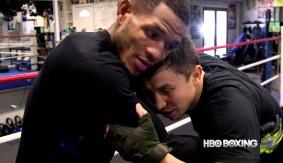 Video – HBO Boxing: Sullivan Barrera on Training with Gennady Golovkin, Abel Sanchez