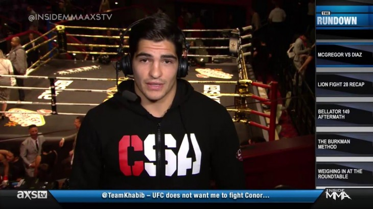 Video – Inside MMA: Gaston Bolanos on Having Loss Overturned & More