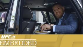 Video – UFC 196 Embedded: Vlog Series Episode 4