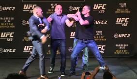 Video – UFC 196: McGregor vs. Diaz & Holm vs. Tate Faceoffs