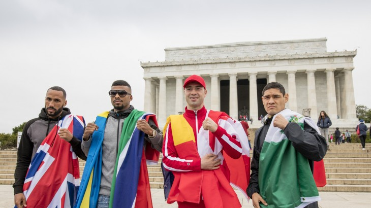 Fight Week Kicks Off with Jack-Bute, Degale-Medina in Washington D.C.
