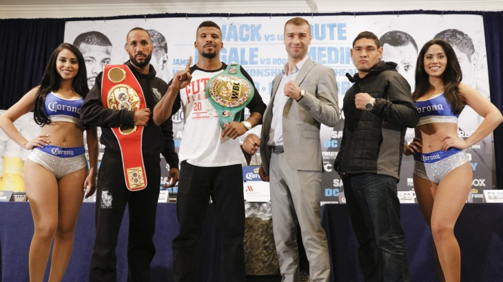 "Showtime Boxing: Badou Jack – ""I Want To Fight James DeGale"""
