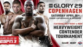 GLORY 29 Heavyweight Contender Tournament Complete with Kornilov vs. Wilnis
