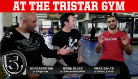 5 Rounds at Tristar Gym with Firas Zahabi & Sage Northcutt