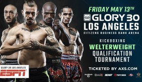 Welterweight Qualification Tournament Announced for GLORY 30 Los Angeles