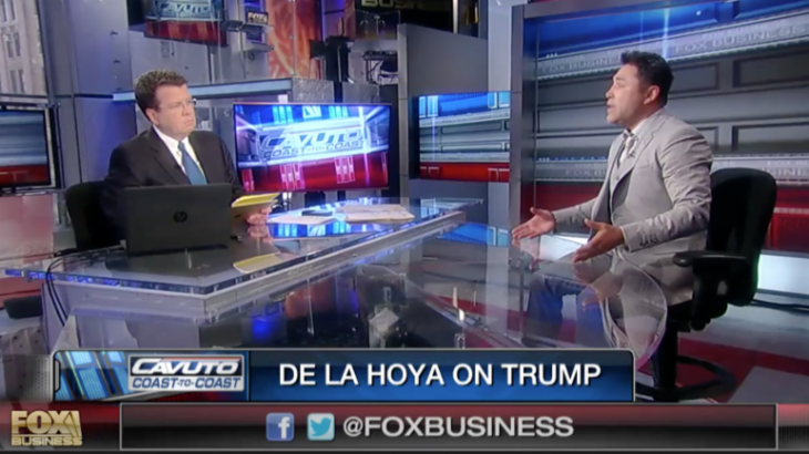 Oscar De La Hoya Invites Donald Trump to Canelo vs. Khan to See 'What Mexicans and Muslims Can Achieve'