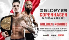 GLORY 29 Copenhagen Adds 2 Lightweight Bouts for April 16