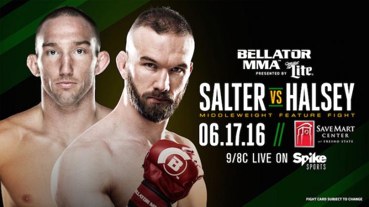 Brandon Halsey vs. John Salter Added to Bellator 156 on June 17
