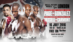 Page vs. Gonzalez & Vassell vs. Carmont Added to Bellator 158 on July 16