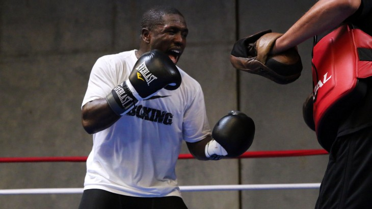 "Andre Berto Training Camp Quotes & Photos – ""I'm Prepared For the Victor of 5 Years Ago"""