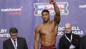 Anthony Joshua vs. Dominic Breazeale Sells Out The O2 for June 25 in London