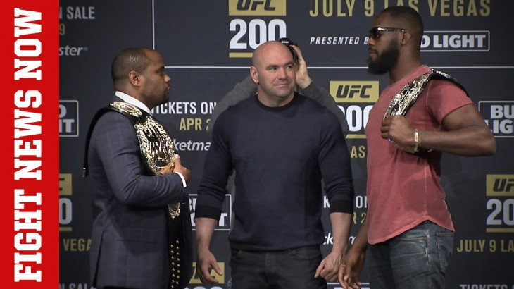 Daniel Cormier vs. Jon Jones Rematch at UFC 200, Next for Conor McGregor on Fight News Now