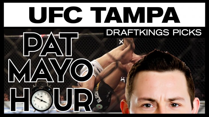 DFS MMA: UFC Fight Night Tampa DraftKings Picks & Preview
