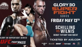 Schilling vs. Wilnis, Lewis-Parry vs. Inocente Adde to GLORY 30 Los Angeles SuperFight Series