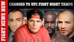 Ferguson Off UFC Tampa; Evans vs. Teixeira, Tate's Contract Extension & More on Fight News Now