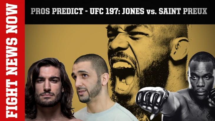 Firas Zahabi & Elias Theodorou Predict UFC 197: Jon Jones vs. Ovince Saint Preux