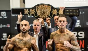 GLORY 29 Copenhagen & SuperFight Series Weigh-in Results & Photos