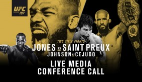 Listen Live at 2 p.m. ET – UFC 197: Jones vs. Saint Preux Media Conference Call