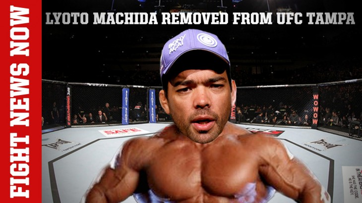 Machida Off UFC Fight Night Tampa Due to Banned Substance on Fight News Now