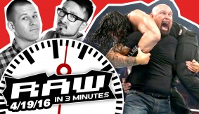 Reigns Attacked by Gallows & Anderson; Tag Tournament Semi-Finals | WWE RAW in 3MIN 4/19/16