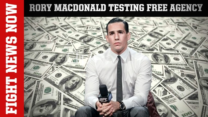 Rory MacDonald Exploring Free Agency, Diego Brandao Released from UFC on Fight News Now