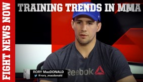 Rory MacDonald, Zach Makovsky Talk Training Trends in MMA & More on Fight News Now
