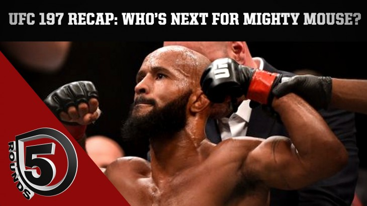 UFC 197 Aftermath: Johnson Stops Cejudo; Who's Next? & More on 5 Rounds