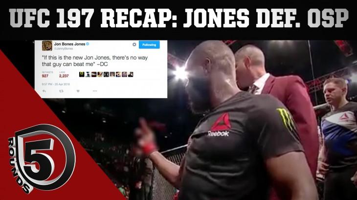 UFC 197 Aftermath: Jon Jones Defeats Ovince Saint Preux; Cormier vs. Jones 2 on 5 Rounds