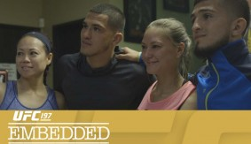 "UFC 197 Embedded: Vlog Series Episode 4 – ""Roufusport & Jackson-Wink All in One Place"""